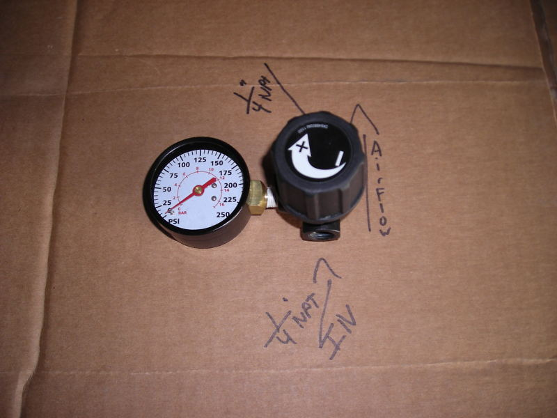 Left Gauge and Regulator